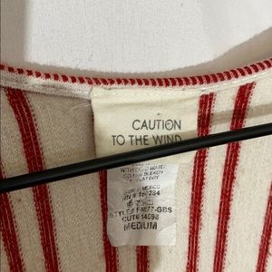 Caution To The Wind Other - CAUTION TO THE WIND striped jumper